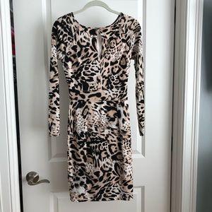 Jennifer Lopez Cheetah Dress
